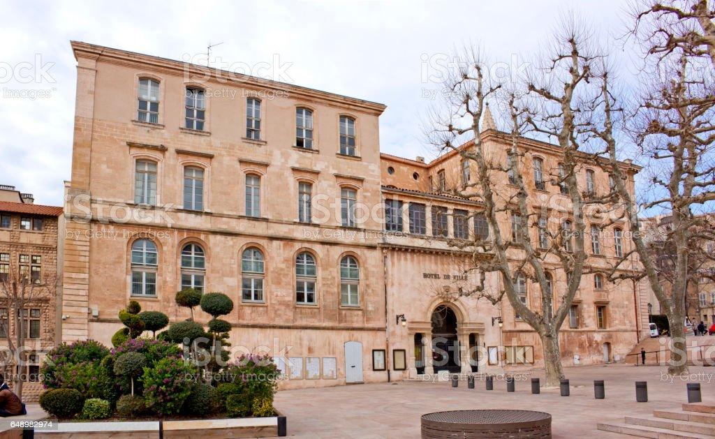 Marseille - Town Council stock photo