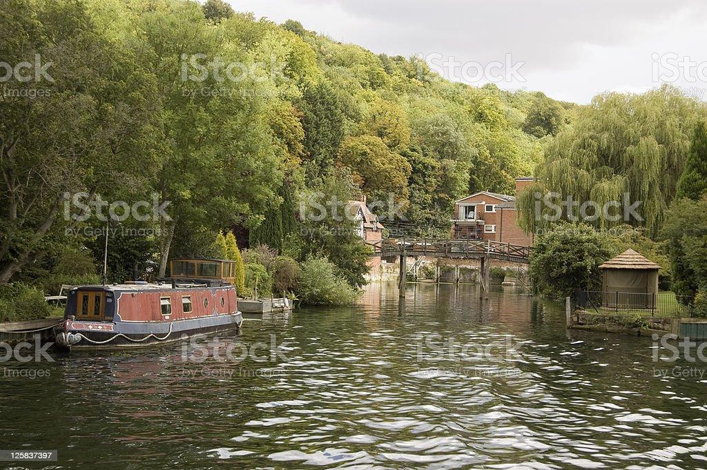 Marsh Lock, Henley-On-Thames stock photo