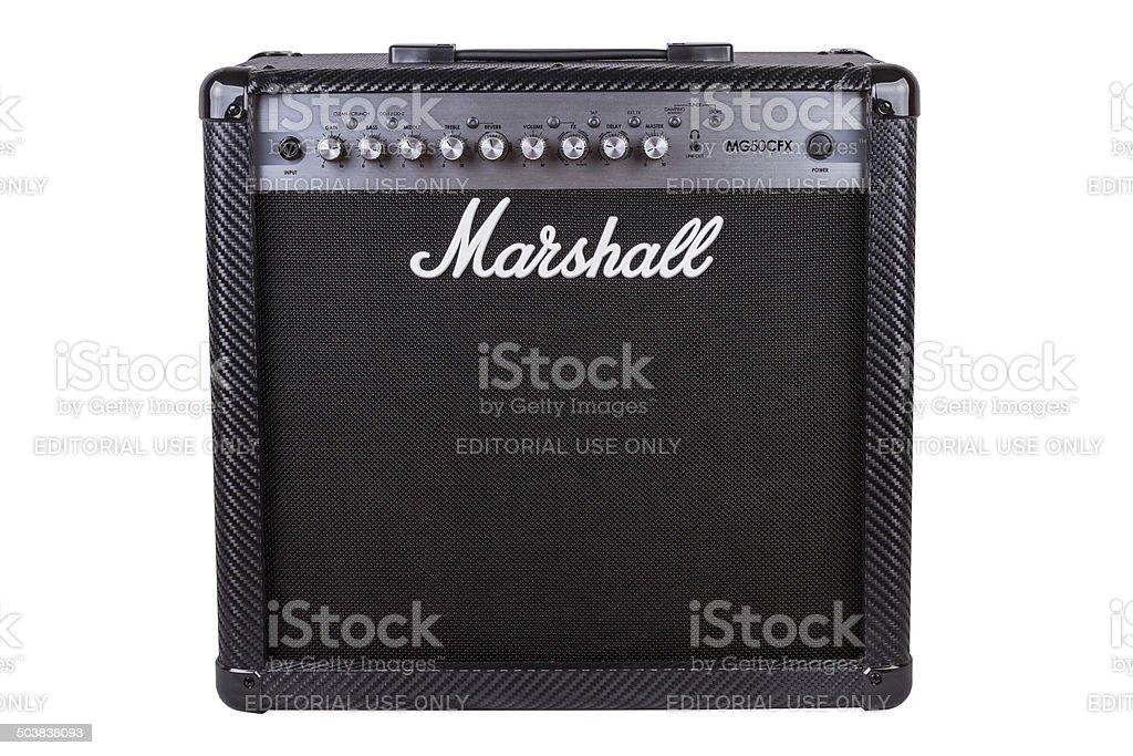 Amplificador de Marshall - foto de stock