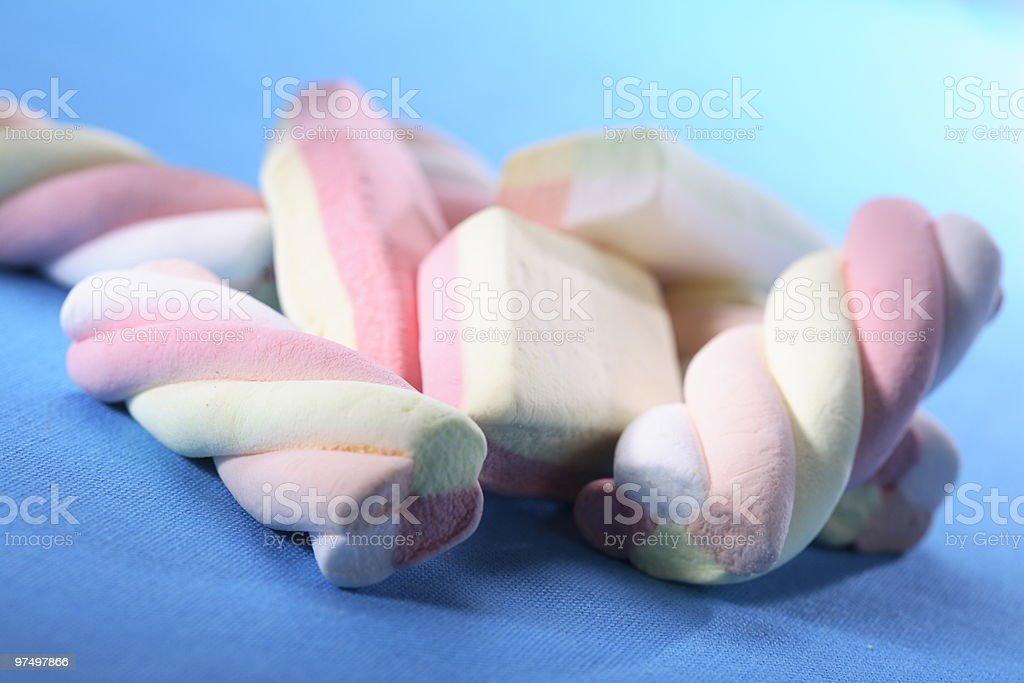Marshmallows royalty-free stock photo