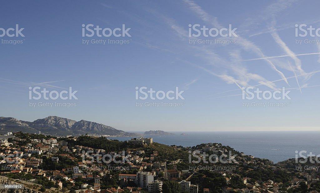 Marsiglia royalty-free stock photo
