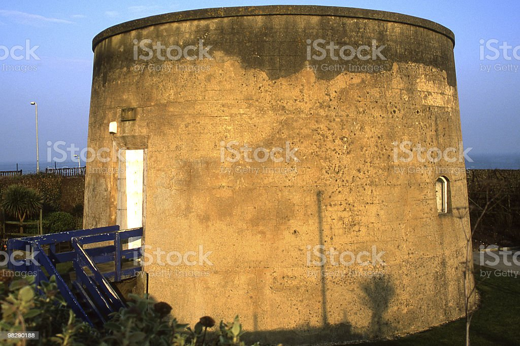 Martello Tower in Eastbourne, East Sussex, England royalty-free stock photo