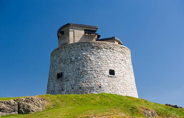 Martello Tower stock photo