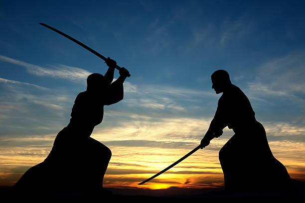 Martial art stock photo
