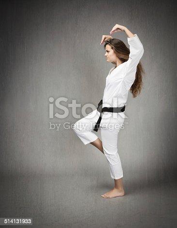 497607484 istock photo martial art strange pose on profile view 514131933