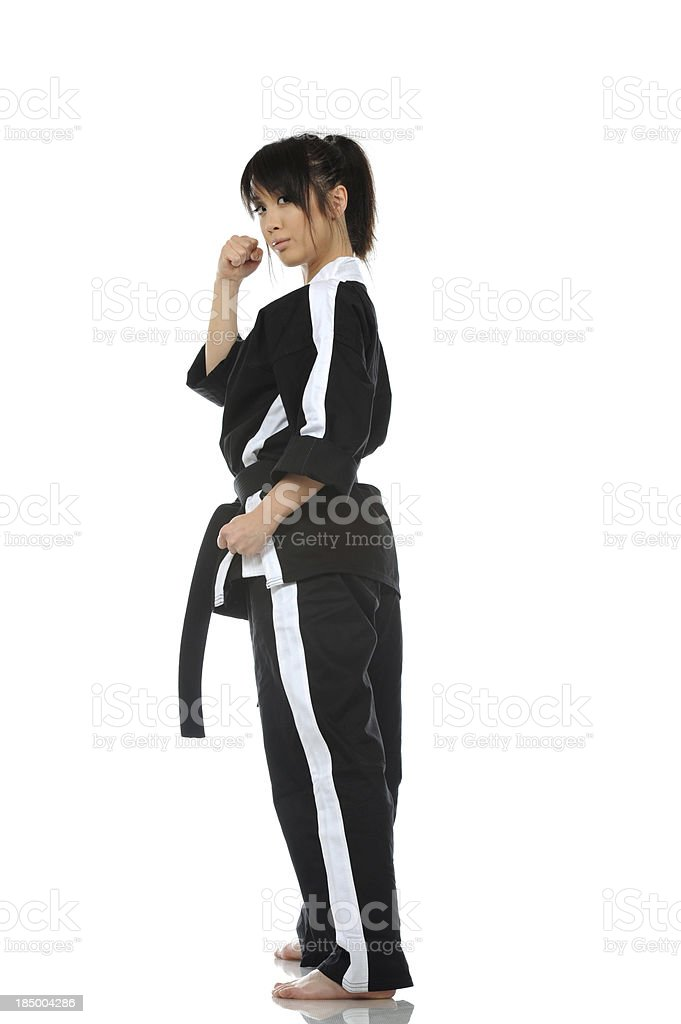 Martial arts challenge royalty-free stock photo