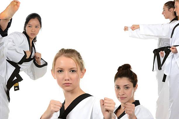 Martial Arts Community stock photo