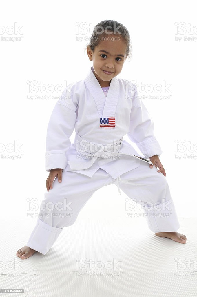 Martial arts for kids royalty-free stock photo