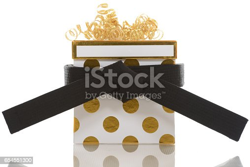 Martial Arts Gift Stock Photo & More Pictures of Birthday