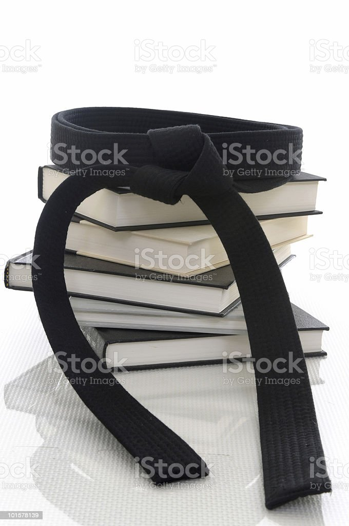 Martial arts knowledge stock photo