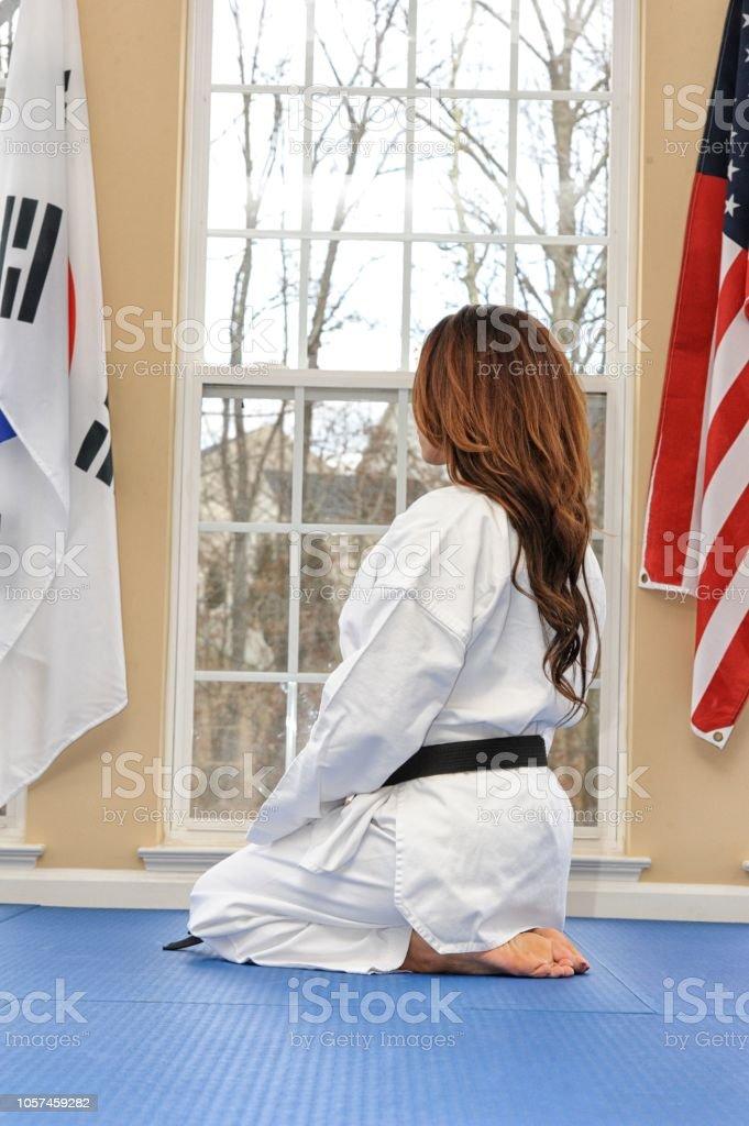 Martial Arts Life stock photo