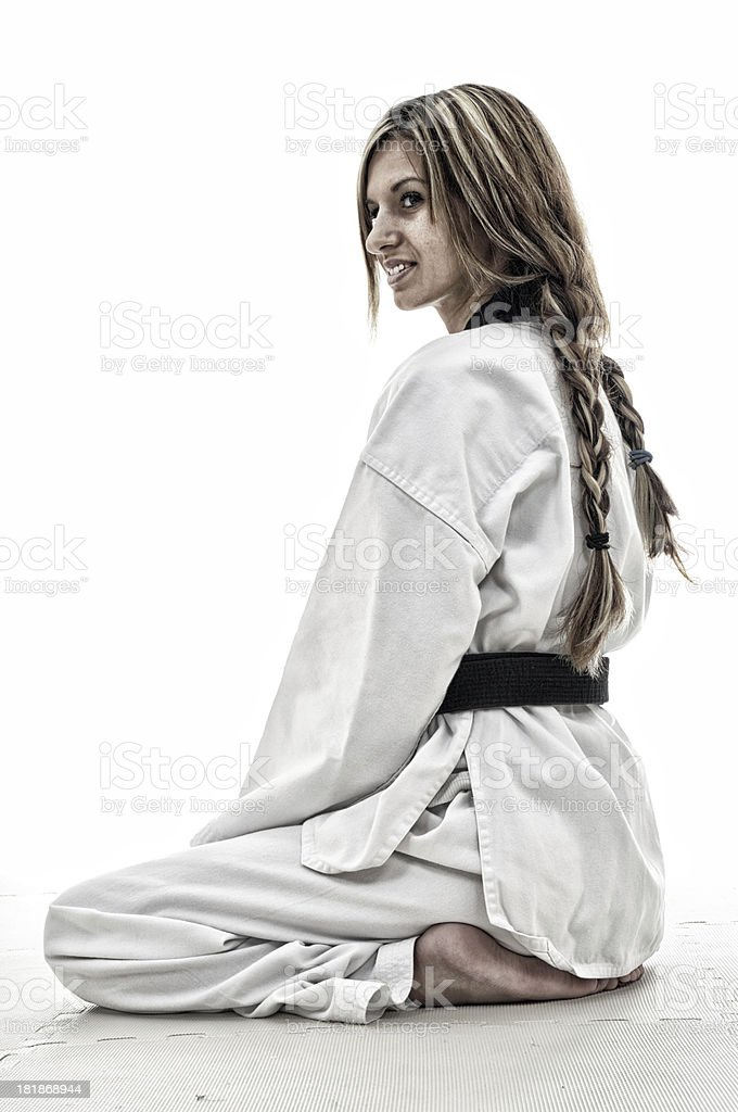 Martial arts life royalty-free stock photo