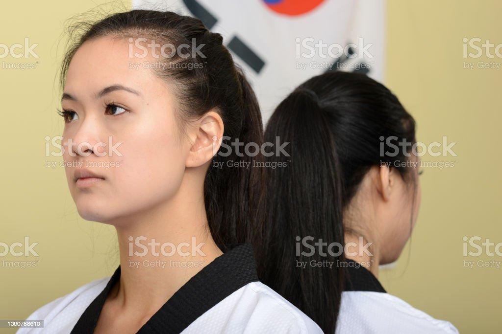 Martial Arts Minds stock photo
