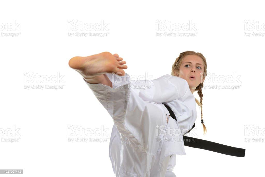 Martial Arts Motion stock photo