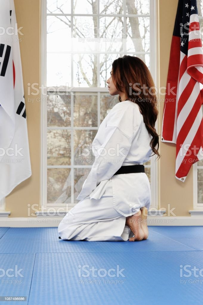 Martial Arts Peace stock photo