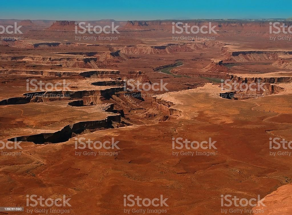 Martian Summer 2104 AD. royalty-free stock photo