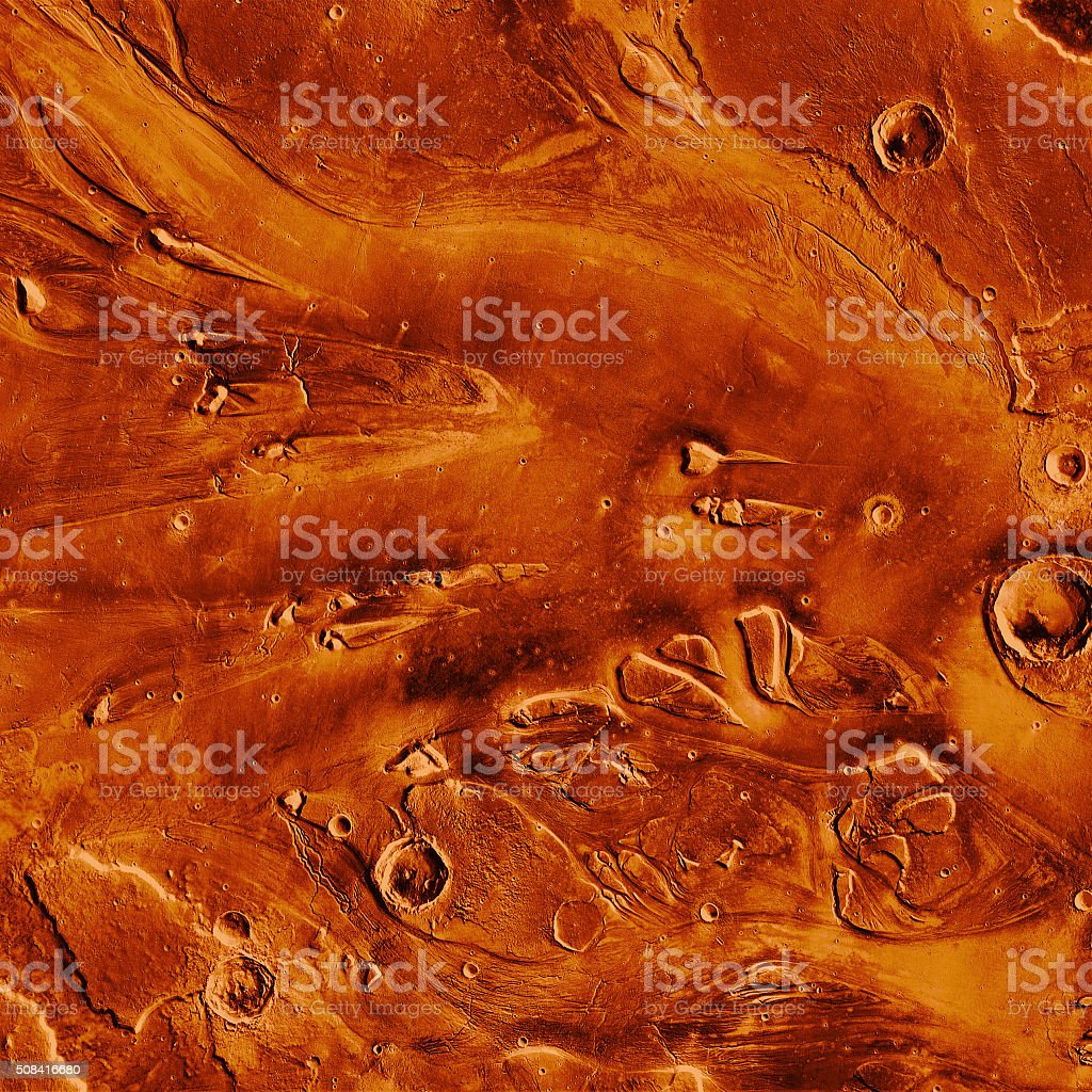 Martian texture stock photo