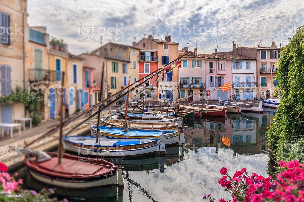 Martigues, France royalty-free stock photo