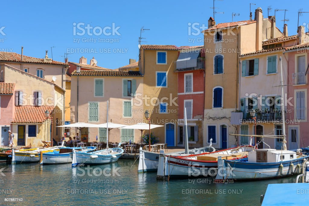 Martigues - France stock photo