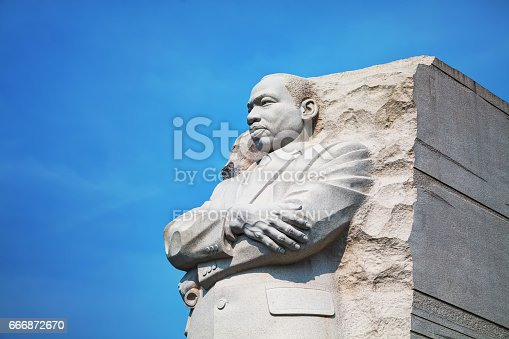 istock Martin Luther King, Jr memorial monument in Washington, DC 666872670