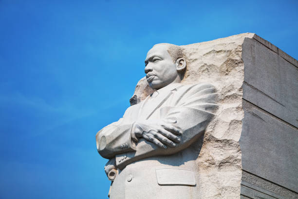 martin luther king, jr memorial monument i washington, dc - monument bildbanksfoton och bilder