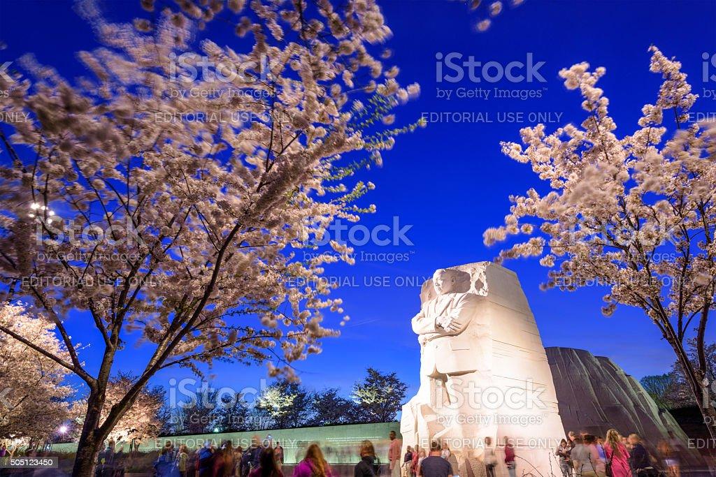 Martin Luther King, Jr. Memorial stock photo