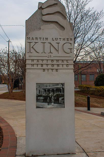 Martin Luther King Jr. National Historic Site - Atlanta stock photo