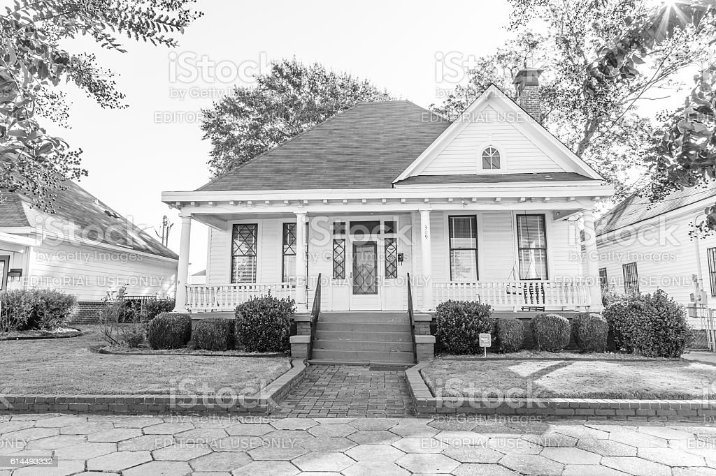 Martin Luther King Jr Parsonage Home In Montgomery Alabama ...