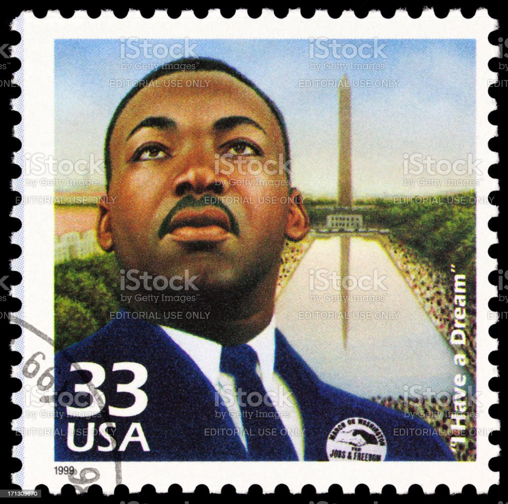 Martin Luther King Jr stock photo