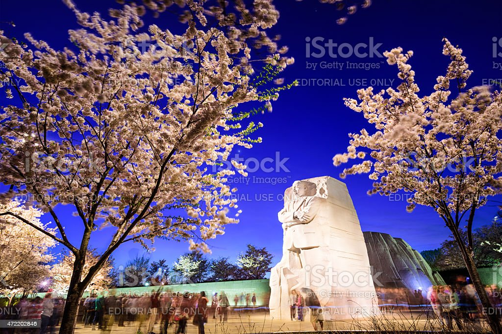 Martin Luther King Junior Memorial stock photo