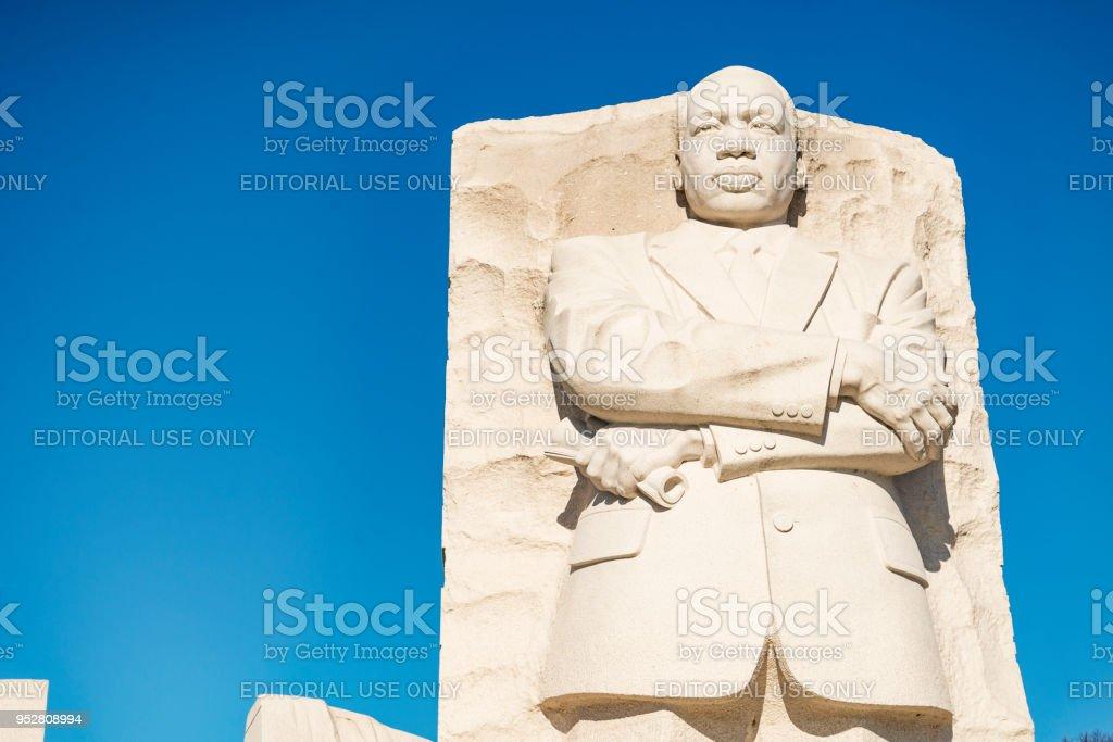 Martin Luther King Junior Memorial - Royalty-free Blauw Stockfoto