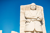 Martin Luther King Junior Memorial in Washington DC, USA