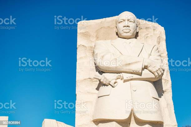 Martin Luther King Junior Memorial Stockfoto en meer beelden van Blauw