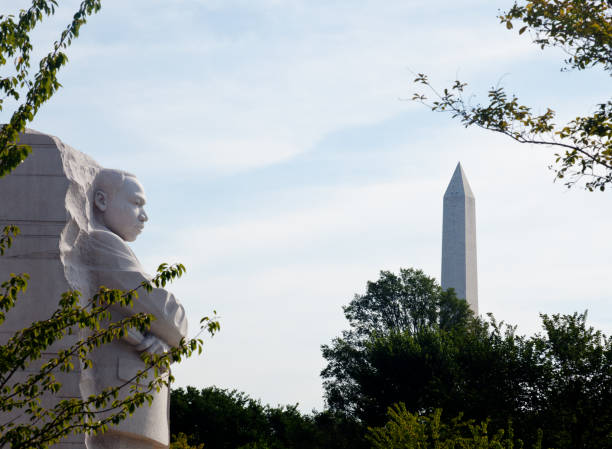 martin luther king monument dc - martin luther king jr stok fotoğraflar ve resimler