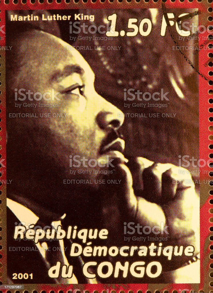 Martin Luther King stock photo