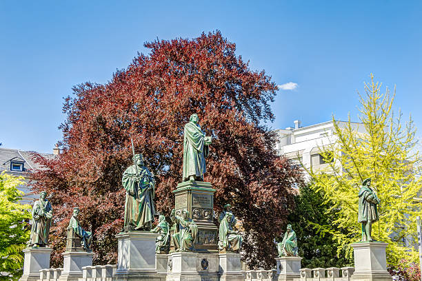 Martin Luther Memorial in Worms – Foto