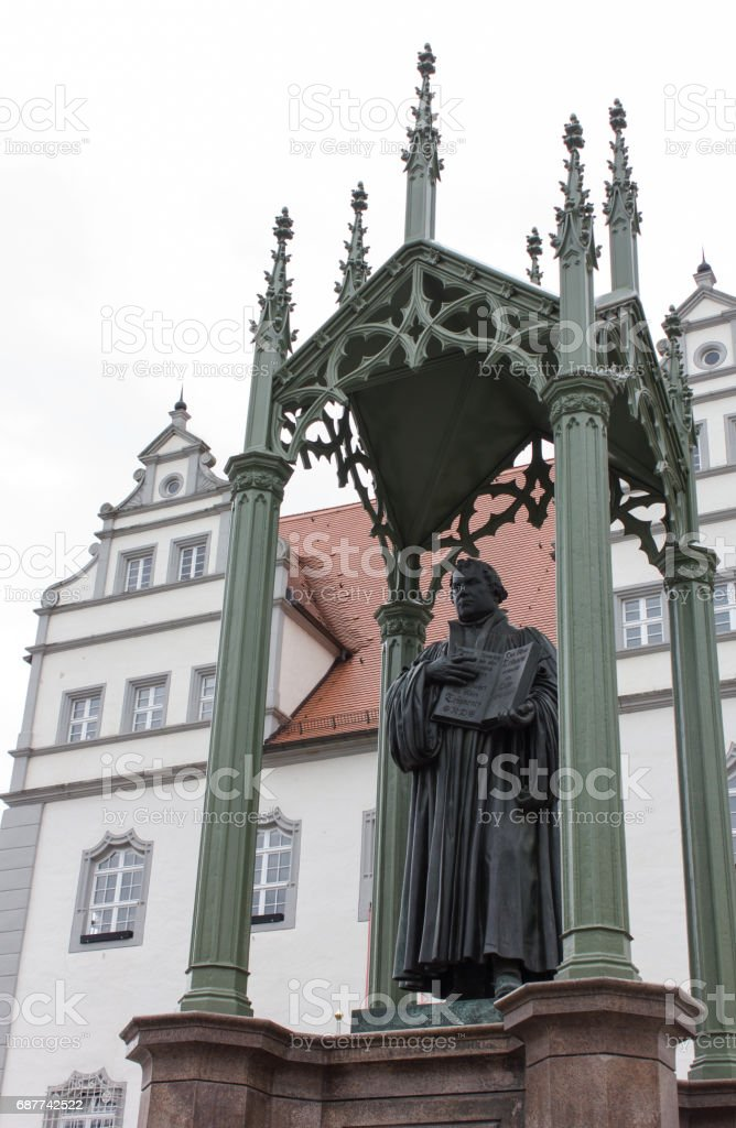 Martin Luther stock photo