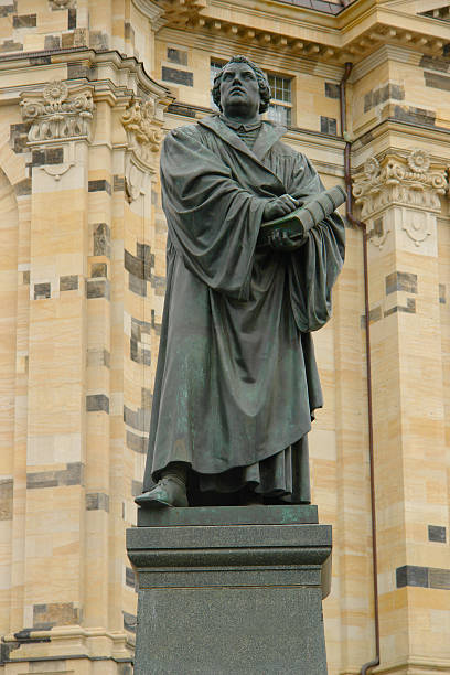 Martin Luther-statue – Foto