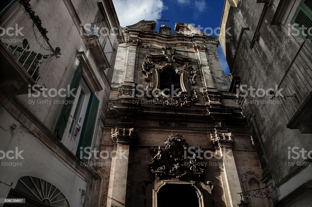 Martina Franca, Apulia, Italy royalty-free stock photo