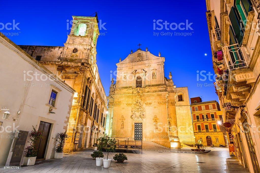 Martina Franca, Puglia, Italy stock photo