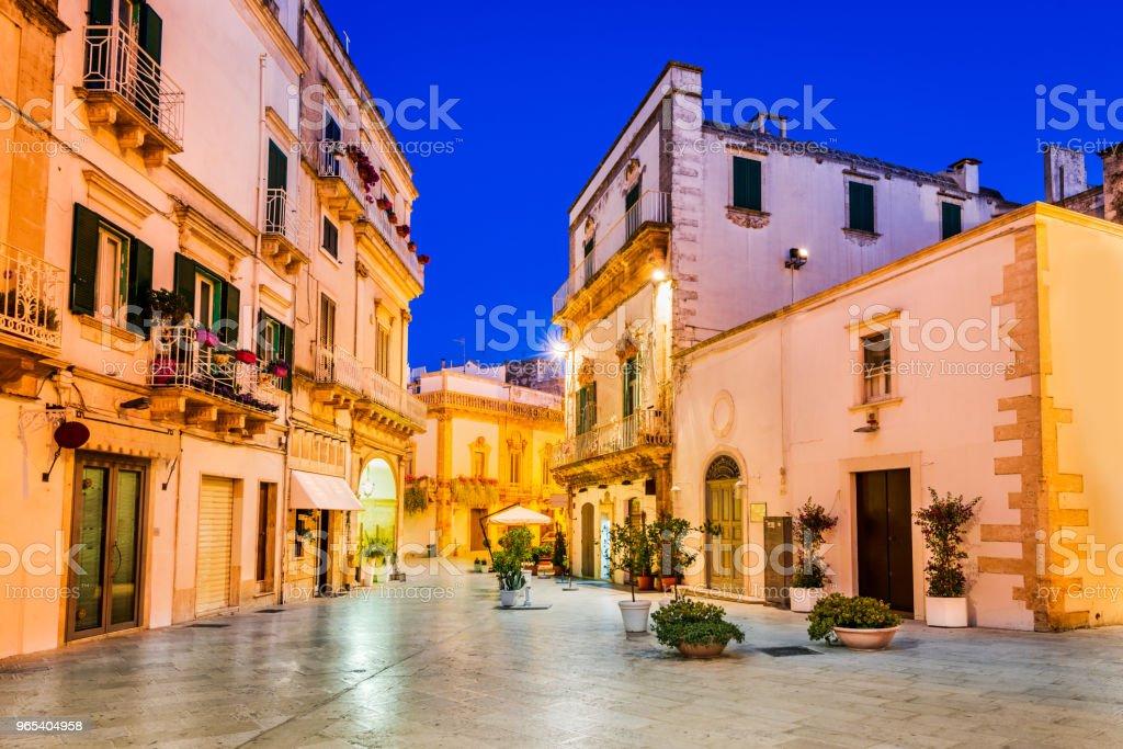 Martina Franca, Puglia, Italy zbiór zdjęć royalty-free