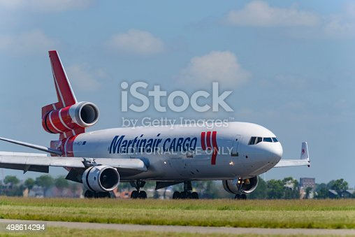 istock Martinair Cargo McDonnell Douglas MD-11 airplane 498614294