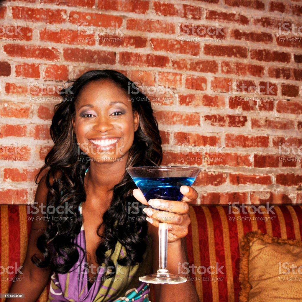 Martini Beauty (Square) royalty-free stock photo