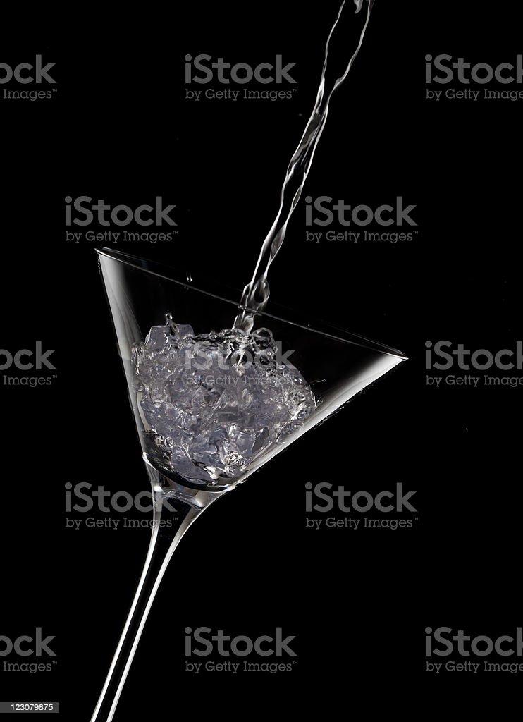 martini pour stock photo