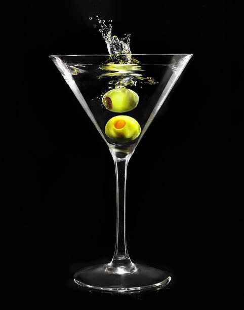 Vaso de Martini - foto de stock