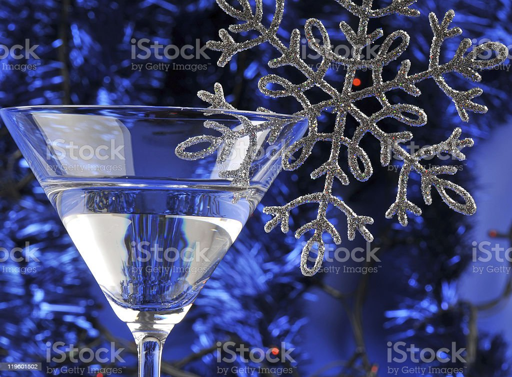 Martini in the glass royalty-free stock photo