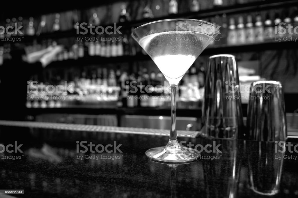Martini an der bar – Foto