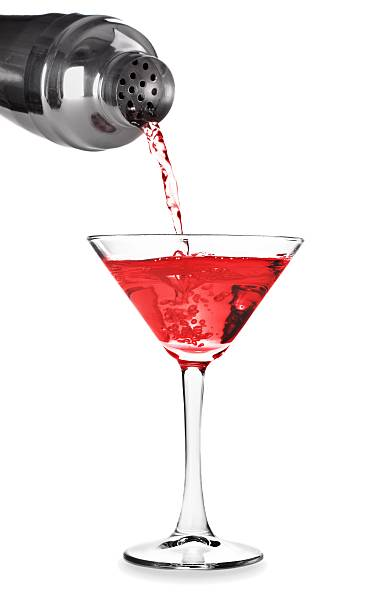 Martini cocktail splash cocktail shaker stock pictures, royalty-free photos & images