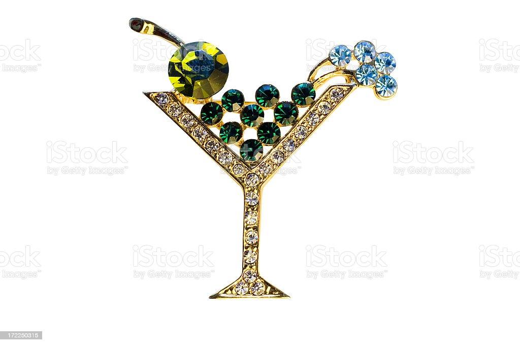 Martini Pin royalty-free stock photo