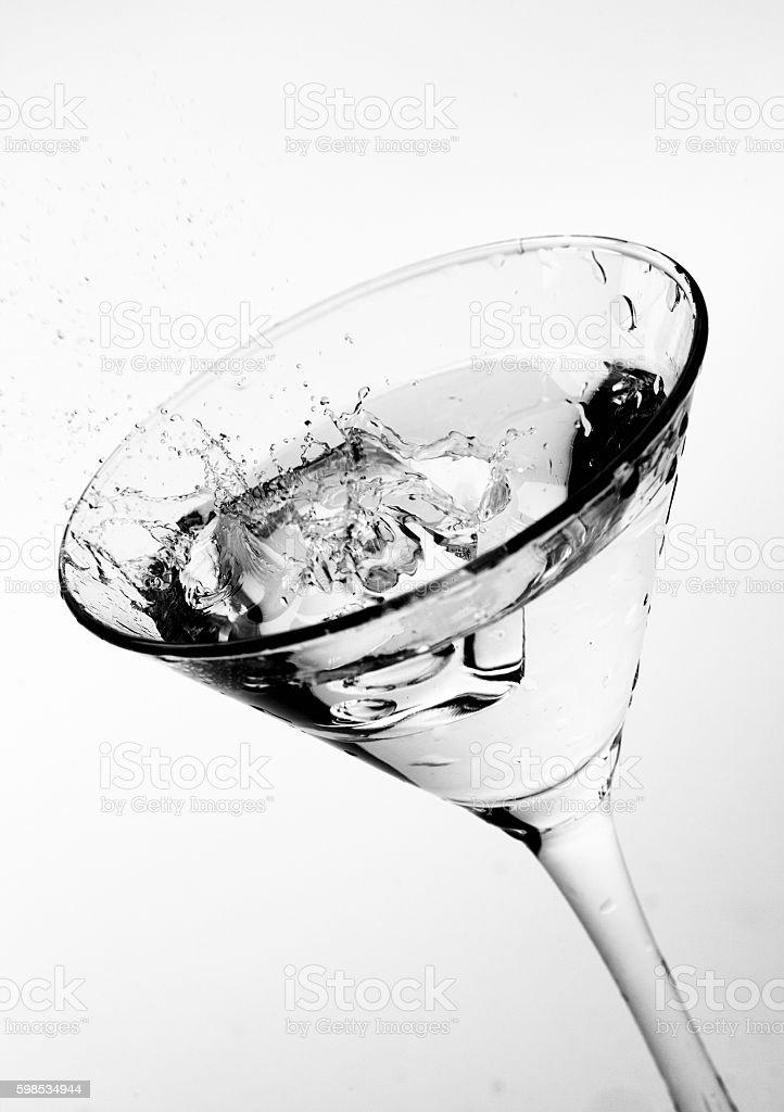 Martini splash photo libre de droits